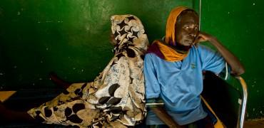 Darfurian Refugees in Eastern Chad.