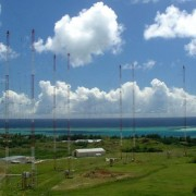 TWR's transmitter on the Pacific island of Guam