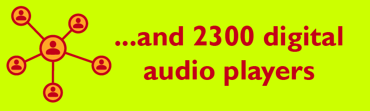 and 2300 digital audio players